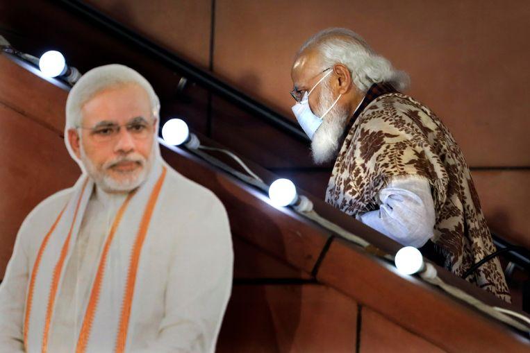 Premier Narendra Modi.  Beeld AP