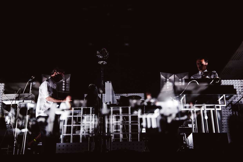 Soulwax op Dour: geen kabeltje los Beeld Francis Vanhee