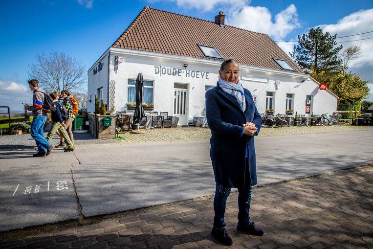 Joelle Coccioli (73). Beeld Jan De Meuleneir / Photo News