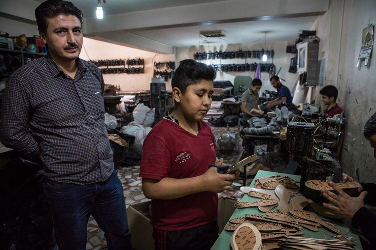 Turkije is geen verzorgingsstaat. Niet voor Turken en niet voor vluchtelingen. Beeld Cigdem Yuksel