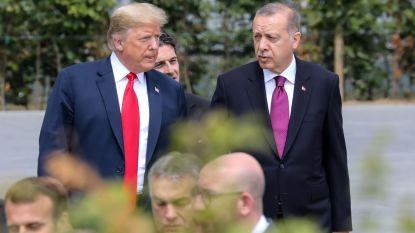 Erdogan bij Trump op de koffie om spanningen weg te masseren