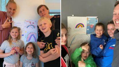 """Ann Wauters, Kim Gevaert en Kim Clijsters sluiten 'Regenboog Pact': """"Dankbaar dat we elkaar hebben"""""""