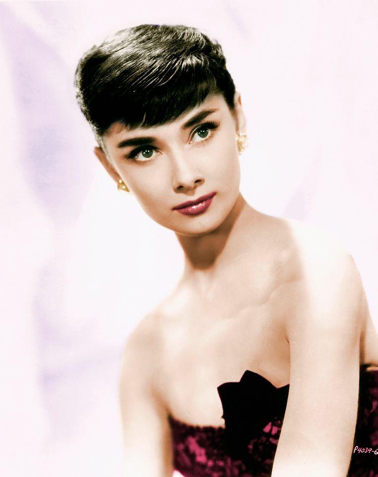 De Brits-Nederlands-Belgische actrice Audrey Hepburn. Beeld Bettmann Archive