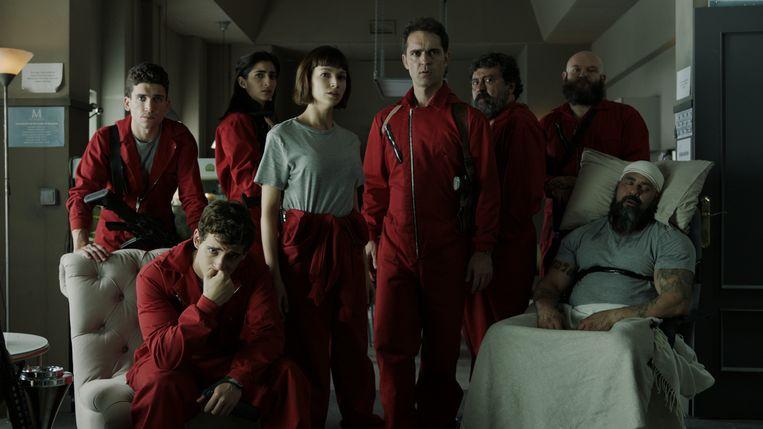 La Casa de Papel Beeld Netflix