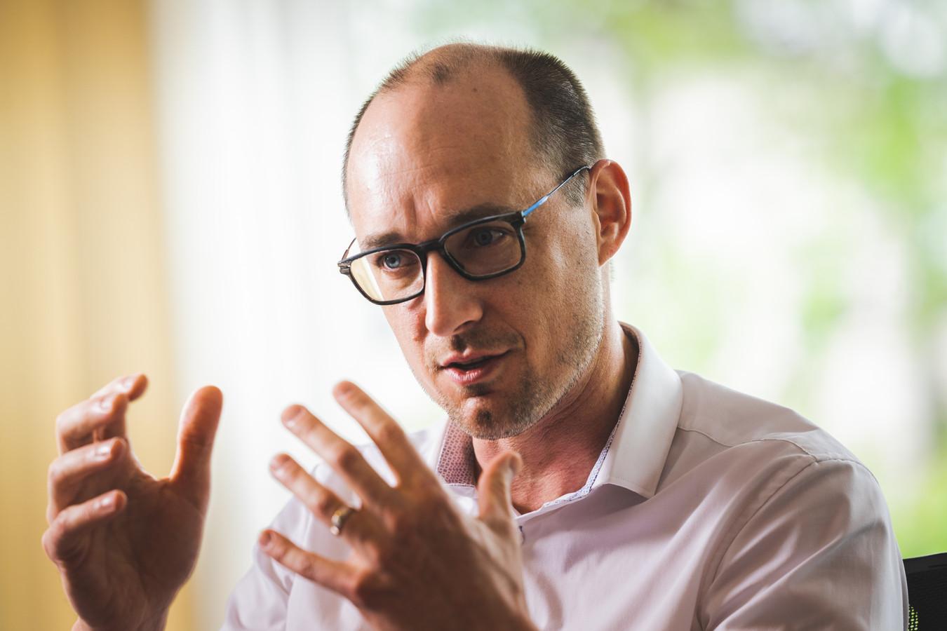 Vicepremier en minister van Financiën Vincent Van Peteghem (CD&V)