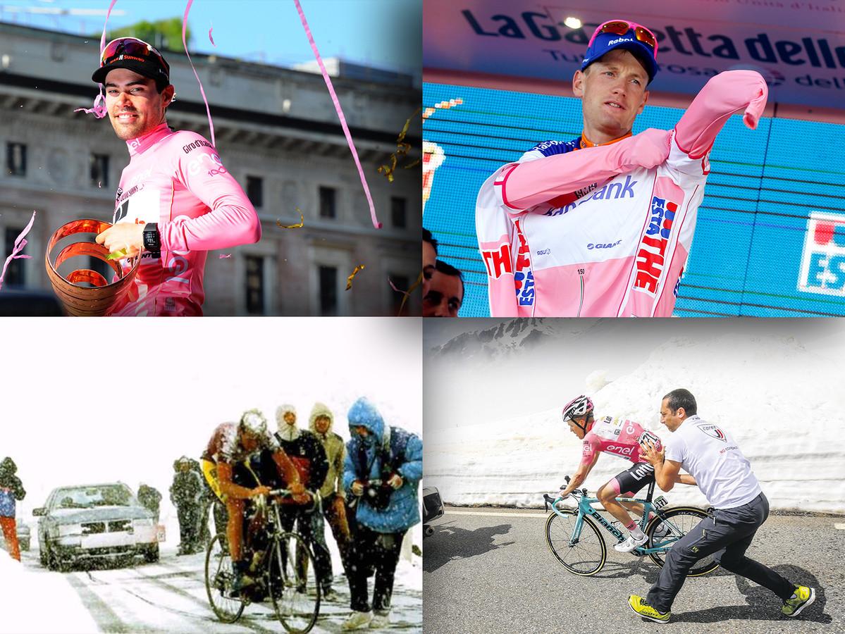 Vandaag zou de Giro beginnen. Een terugblik op de hoogtepunten uit de Nederlandse wielerhistorie