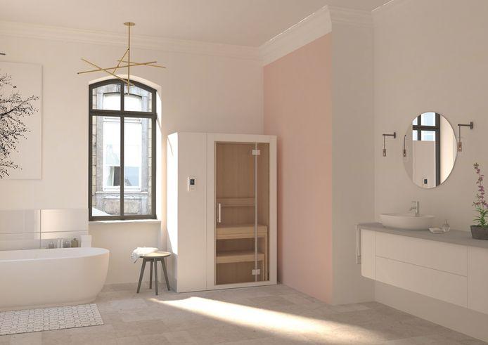 Home sauna S1, richtprijs 9.450 euro