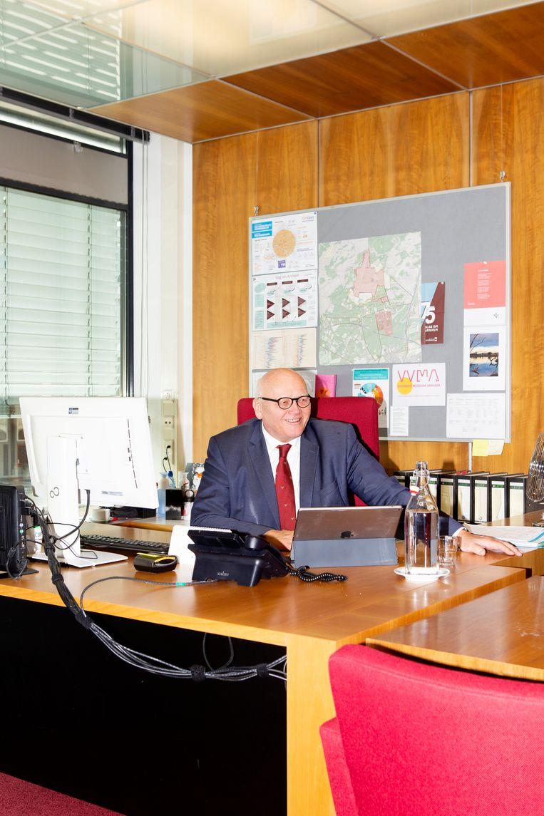 Wethouder cultuur in Arnhem: Hans de Vroome.  Beeld Sanne Zurné
