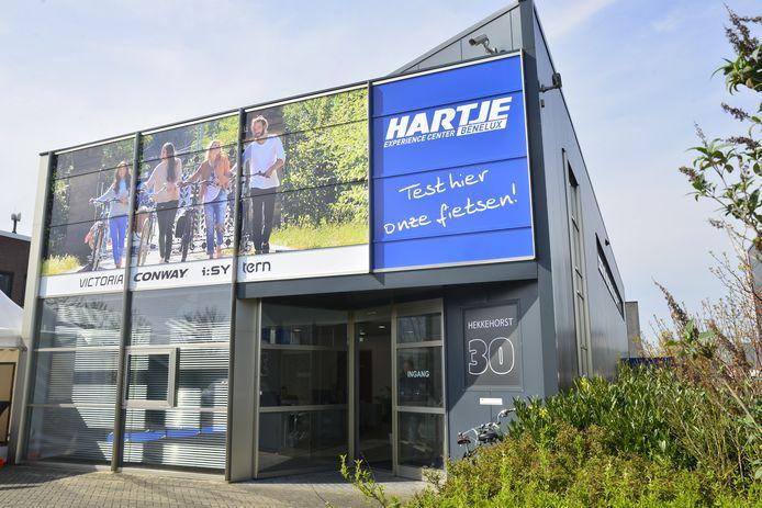 Het experience center van Hermann Hartje KG aan de Hekkehorst in Zutphen.