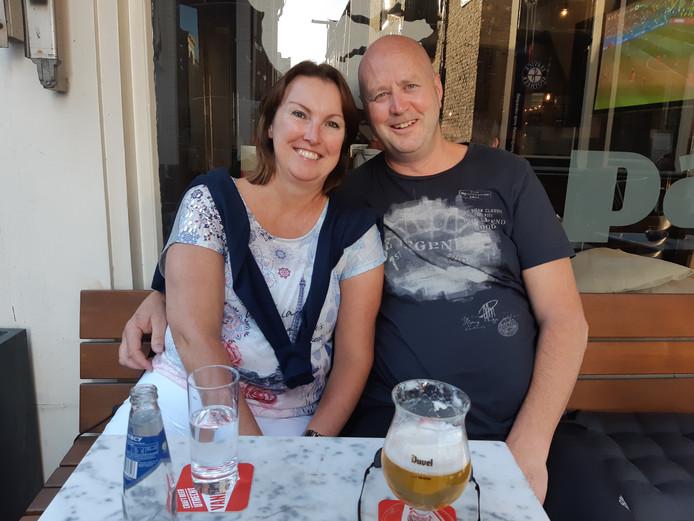 Janine en Ton van Wijk.