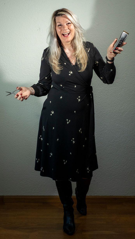 Diane Nederhoff, kapster van Hair-D.
