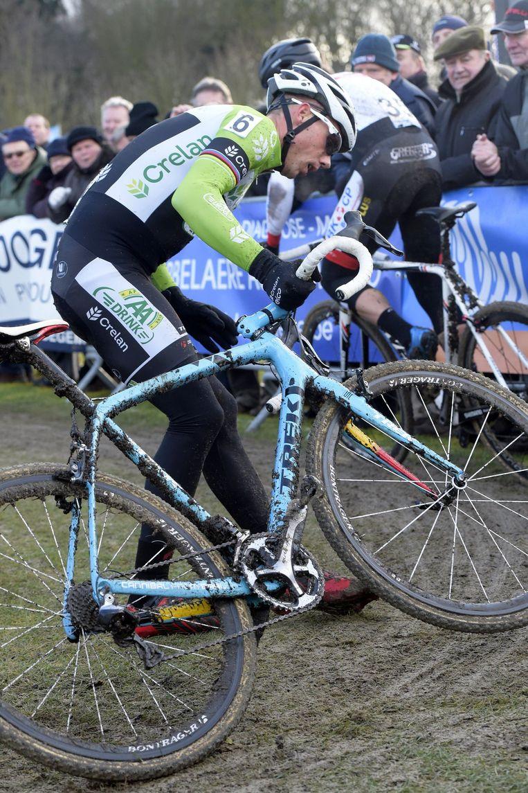 Nys hinderde bij de start Pauwels Beeld PHOTO_NEWS