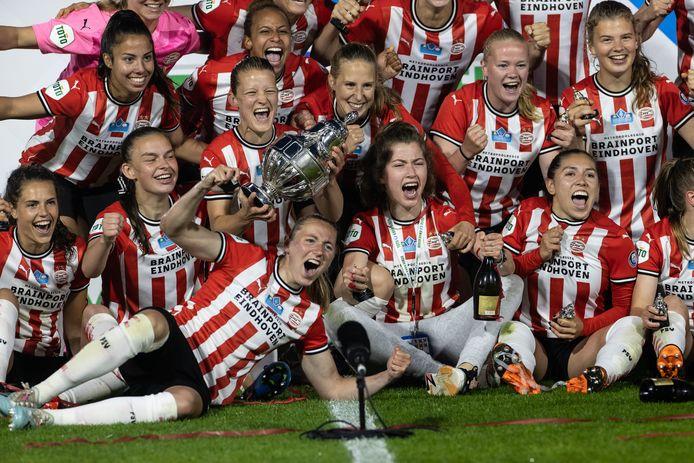 Feest bij de PSV'ers