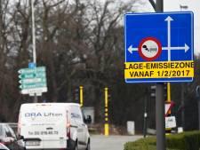 Stad Antwerpen inde al 25,5 miljoen euro aan boetes in lage-emissiezone