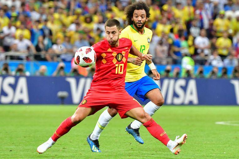 Eden Hazard. Beeld AFP