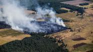 Hevige brand verwoest zo'n 100 voetbalvelden heide in Nederland