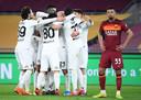 Spezia viert feest, AS Roma treurt.