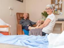 Bewoners hospice Clarahofje genieten van verwendag
