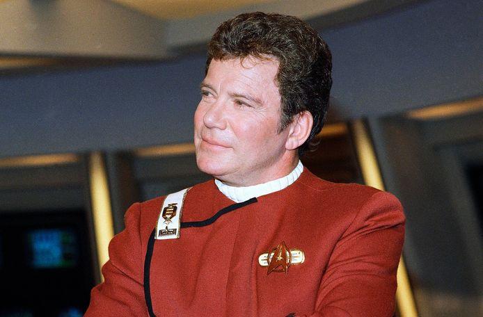 William Shatner, qui a incarné le mythique capitaine Kirk de la série Star Trek.