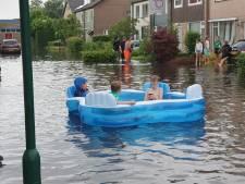Van ondergelopen huizen tot doordrenkte fietsers: dit deed het noodweer in Brabant
