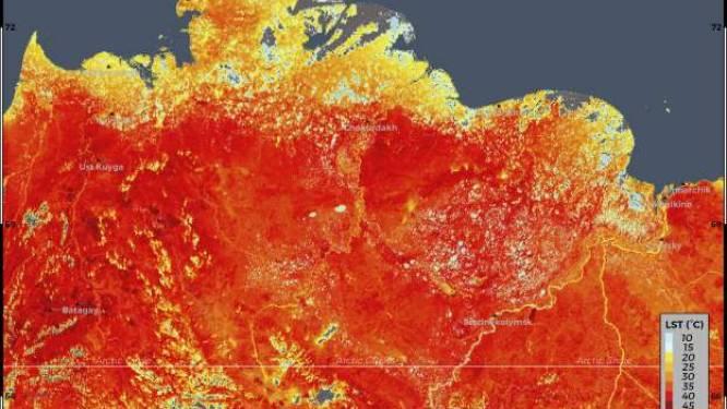 """Bosbranden Siberië breiden razendsnel uit: """"Bijna vervijfvoudigd sinds vorige week"""""""
