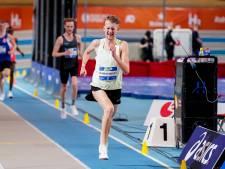 Veldhovenaar Tim Verbaandert loopt bij NK indoor naar zilver op 3000 meter: 'Met deze tijd ben ik erg blij'