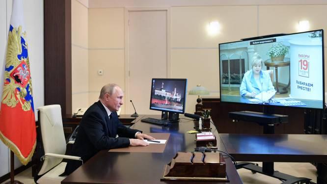 Nauwelijks reden voor feest voor Poetins partij: 'Iedereen weet hoe verkiezingen zijn verlopen'