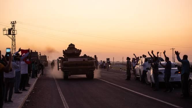 'Turkse troepen trekken Noord-Syrië binnen'