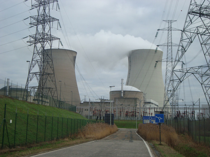 Kerncentrale in Doel.