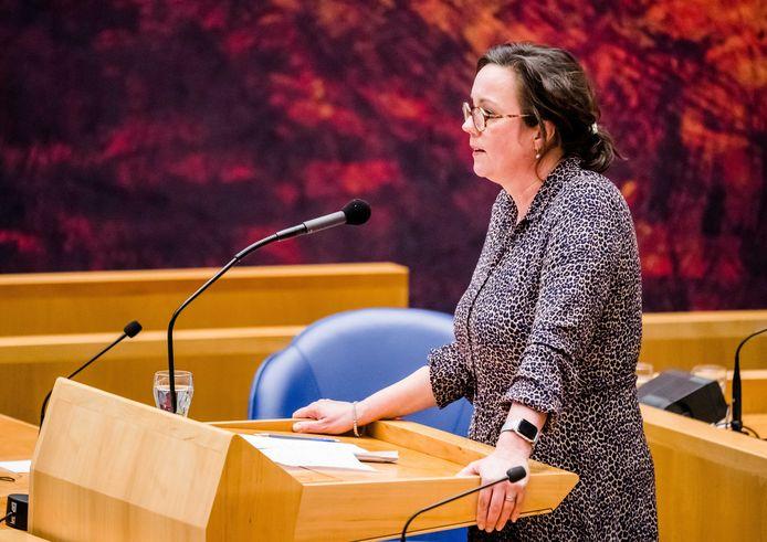 Demissionair Minister Tamara van Ark voor Medische Zorg.