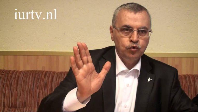Ahmet Akgündüz, de rector van de Islamitische Universiteit Rotterdam. Beeld Trouw