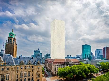 Rotterdammers beginnen online petitie tegen toren op Post Rotterdam