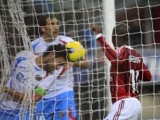 AC Milan met 99ste van Seedorf haalt uit tegen Catania