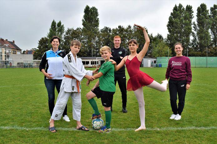 De Koninklijke Judoclub Zelzate, KVV Zelzate en dansschool Dancepointe willen elkaar sterker maken.