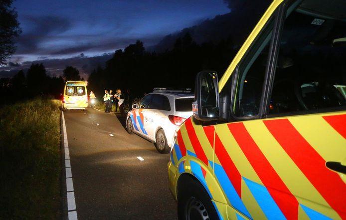 Man zwaargewond door ongeluk in Schijndel.