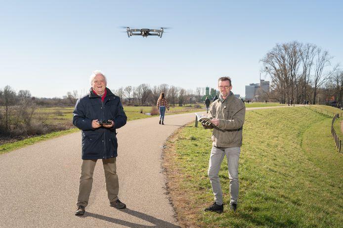 Cees Mobach (links) en Ruud Verwaal.