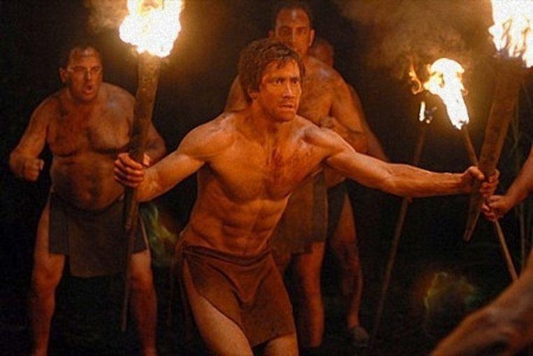 Jake Gyllenhaal in 'Nailed'. Beeld rv