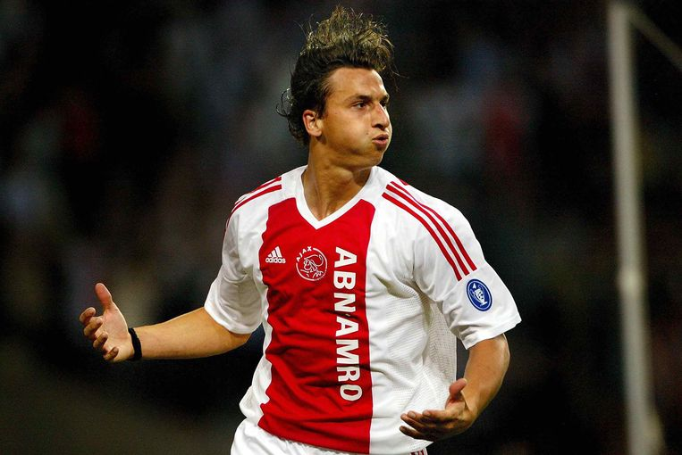 Zlatan Ibrahimovic, namens Ajax.