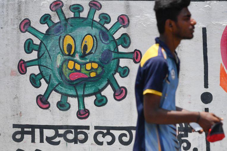Mumbai, India Beeld AFP