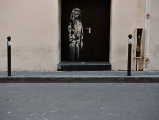 Gestolen Banksy uit concertzaal Bataclan terug naar Frankrijk