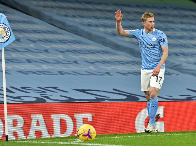 Als snelste ooit de top tien van beste passeurs in de Premier League in: De Bruyne heeft nieuwe mijlpaal beet bij City
