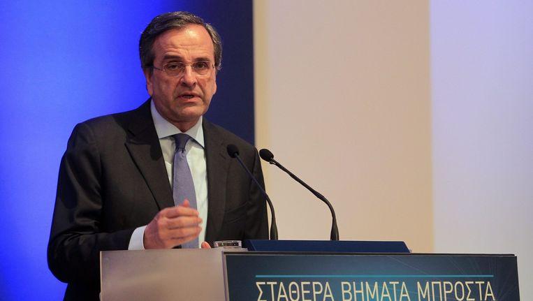 Eerste minister Antonis Samaras opperde al het idee om de belastingen progressief te laten zakken.