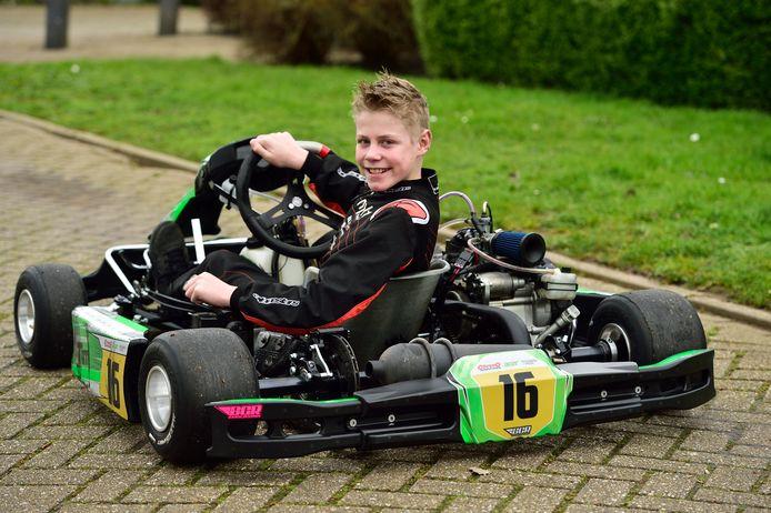 De 12-jarige karterTim van Elleswijk.