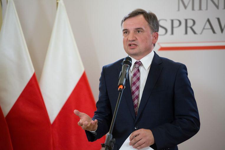 Minister Zbigniew Ziobro. Beeld REUTERS