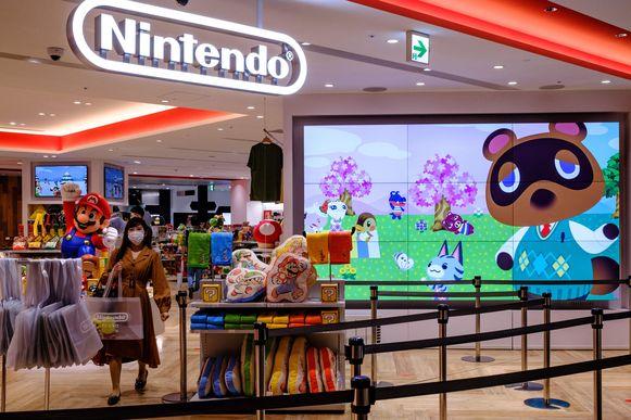 Het bedrijf Nintendo maakt zes keer meer winst dan een jaar geleden.