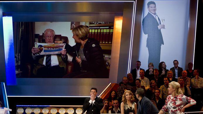 Een deelnemer aan de Postcode Loterij wint ruim 4 miljoen tijdens de Nieuwjaarsshow.