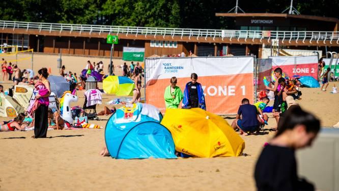 Strandzone domein Sport Vlaanderen vanaf zaterdag open: maximaal 3.000 bezoekers per dag