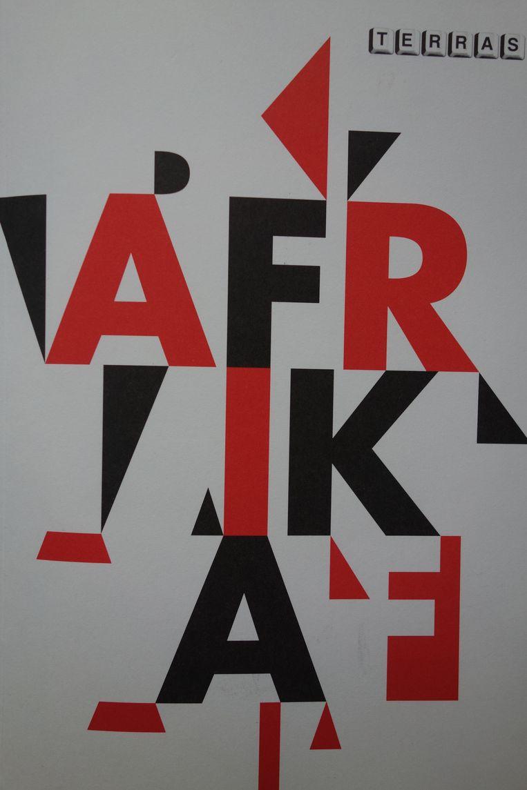Omslag Afrikanummer van het tijdschrift Terras. Beeld terras