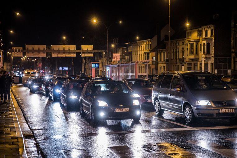 De succesvolle zaterdag zorgde ook voor een enorme verkeersdrukte aan de Heuvelpoort.
