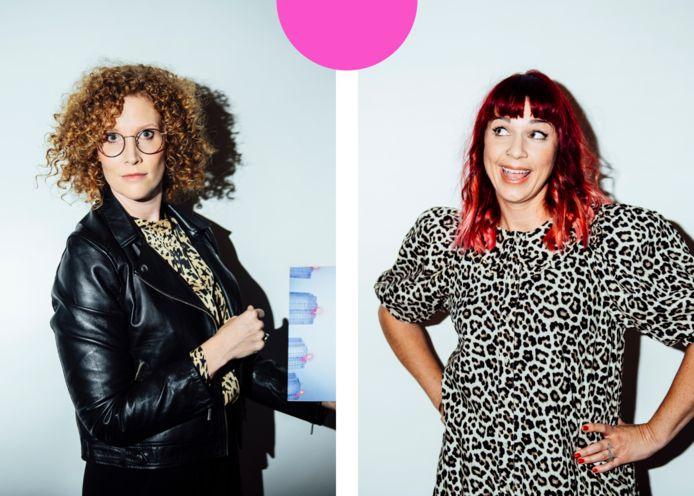 Links: Annelies Orye. Rechts: Sofie Engelen.